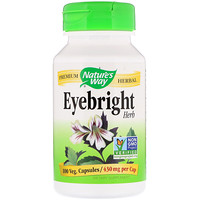 Eyebright Herb, 430 mg, 100 Veg. Capsules - фото