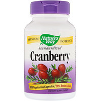 Cranberry, Standardized, 120 Vegetarian Capsules - фото