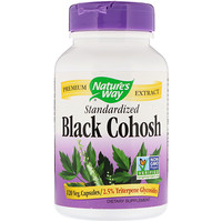 Black Cohosh, Standardized, 120 Veg. Capsules - фото