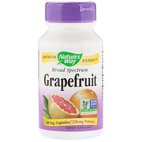 Grapefruit, 250 mg, 60 Veg. Capsules - фото