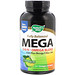 Fully Balanced Mega 3/6/9, Omega Blend, Lime Flavor, 180 Softgels - изображение