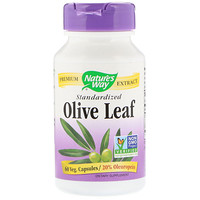 Olive Leaf, Standardized, 60 Veg. Capsules - фото