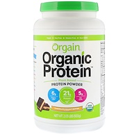 Organic Protein Powder Plant Based, Chocolate Peanut Butter, 2.03 lb (920 g) - фото