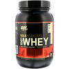 Optimum Nutrition, Gold Standard 100% Whey, French Vanilla Crème, 2 lbs (909 g)