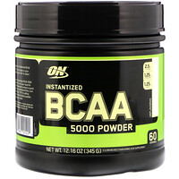 Instantized BCAA 5000 Powder, Unflavored, 12.16 oz (345 g) - фото