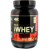 Optimum Nutrition, Gold Standard 100% Whey, Delicious Strawberry, 2 lb (909 g)