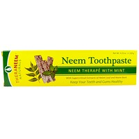 TheraNeem Naturals, Neem Therapé with Mint, Neem Toothpaste, 4.23 oz (120 g) - фото