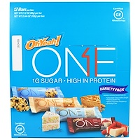 ONE, Variety Pack Protein Bars, 12 Bars, 2.12 oz (60 g) Each - фото