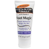 Cocoa Butter Formula, Foot Magic с маслом мяты и манго, 2,1 унции (60 г) - фото