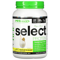 Vegan Series, Select Protein, Peanut Butter Delight, 29.5 oz (837 g) - фото