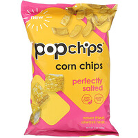 Corn Chips, Perfectly Salted, 5 oz (142 g) - фото