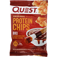 Original Style Protein Chips, BBQ,  12 Pack, 1.1 oz (32 g) Each - фото