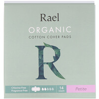 Organic Cotton Cover Pads, Petite, 14 Count - фото
