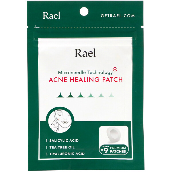 Microneedle Technology, Acne Healing Patch, 9 Patches