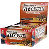 FITCRUNCH, Whey Protein Baked Bar, Chocolate Chip Cookie Dough, 12 Bars, 3.10 oz (88 g) Each