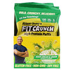 FITCRUNCH, High Protein Puffs, Sour Cream & Onion, 8 Bags, 1.05 oz (30 g) Each