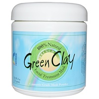 French Green Clay, Facial Treatment Mask, 8 oz (225 g) - фото