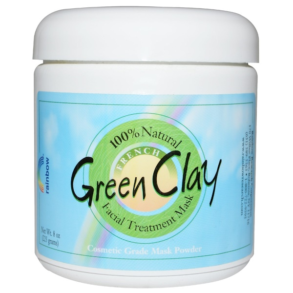 French Green Clay, Facial Treatment Mask, 8 oz (225 g)