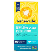 Ultimate Flora, Ultimate Care Probiotic, 30 Vegetarian Capsules - фото