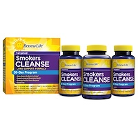 Targeted, Smokers Cleanse, Lung Support Formula, 30 Day Program, 3-Part Program - фото