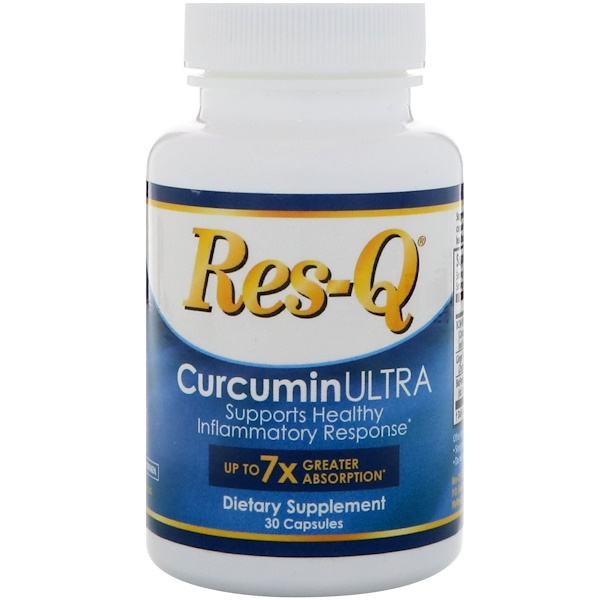 Res-Q, CurcuminULTRA, 30 капсул (Discontinued Item)