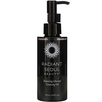 Balancing Charcoal Cleansing Oil, 4.9 fl oz (145 ml) - фото