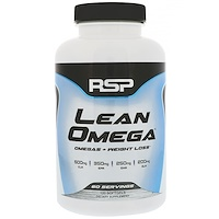 Lean Omega, Omegas+Weight Loss, 120 Softgels - фото