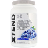Xtend, The Original 7G BCAA, Blue Raspberry Ice, 2.78 lb (1.26 kg) - фото