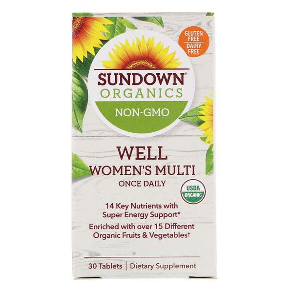 Well Women's Multivitamin, Once Daily, 30 Tablets