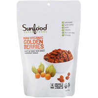 Raw Organic Golden Berries, 8 oz (227 g) - фото