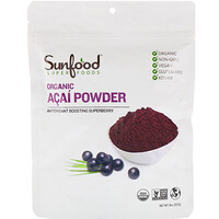 Organic Acai Powder, 8 oz (227 g) - фото