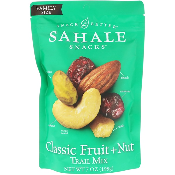Snack Better, Trail Mix, Classic Fruit + Nut, 7 oz (198 g)