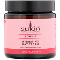 Hydrating Day Cream, Rosehip, 4.06 fl oz (120 ml) - фото