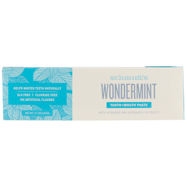 Tooth + Mouth Paste, Wondermint , 4.7 oz (133 g)