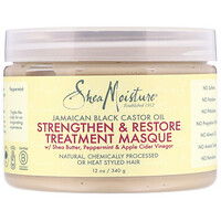 Jamaican Black Castor Oil, Strengthen & Restore Treatment Masque, 12 oz (340 g) - фото