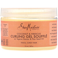 Coconut & Hibiscus, Curling Gel Souffle, 12 oz (340 g) - фото