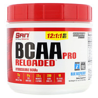 BCAA Pro Reloaded, Blue Raspberry, 16.1 oz (456 g) - фото