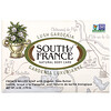 South of France, Lush Gardenia, French Milled Soap with Organic Shea Butter, 6 oz (170 g)