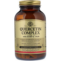 Quercetin Complex with Ester-C Plus, 100 Vegetable Capsules - фото