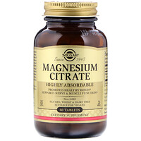 Magnesium Citrate, 60 Tablets - фото