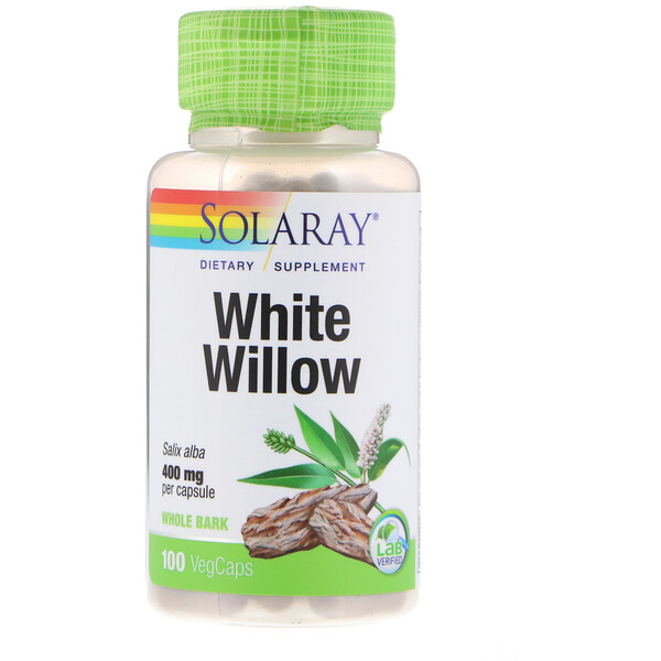 White Willow, 400 mg, 100 VegCaps