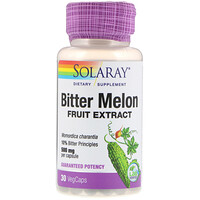 Bitter Melon Fruit  Extract, 500 mg, 30 VegCaps - фото