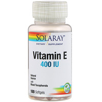 Vitamin E , 400 IU, 100 Softgels - фото
