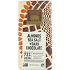 Endangered Species Chocolate, Almonds Sea Salt + Dark Chocolate, 72% Cocoa, 3 oz (85 g)