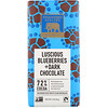 Endangered Species Chocolate, Luscious Blueberries + Dark Chocolate, 72% Cocoa, 3 oz (85 g)