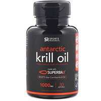 Antarctic Krill Oil with Astaxanthin, 1000 mg, 30 Softgels - фото