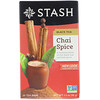 Stash Tea, Black Tea, Chai Spice, 20 Tea Bags, 1.3 oz (38 g)