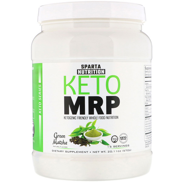Sparta Nutrition, Keto MRP, Green Matcha, 20.11 oz (570 g) (Discontinued Item)