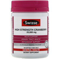 Ultiboost, High Strength Cranberry, 25,000 mg, 100 Capsules - фото