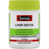 Ultiboost, Liver Detox, 180 Tablets - фото